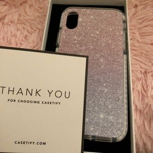 Other - IPHONE X CASETIFY CASE NWT